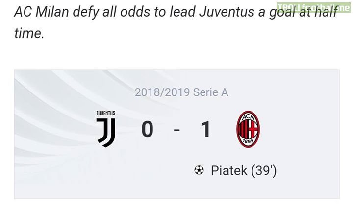 Piatek has taken a goal lead over CR7 and now is in second place after Quagliarella!!