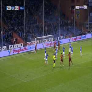Sampdoria 0-1 Roma - Daniele De Rossi 75'