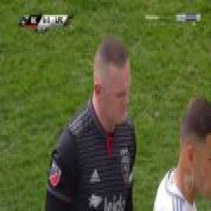 Wayne Rooney (DC United) straight red card against Los Angeles FC 50'
