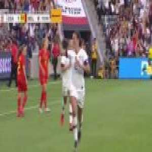 USA W 2-0 Belgium W - Carli Lloyd 20'