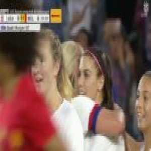 USA W 5-0 Belgium W - Alex Morgan 52'