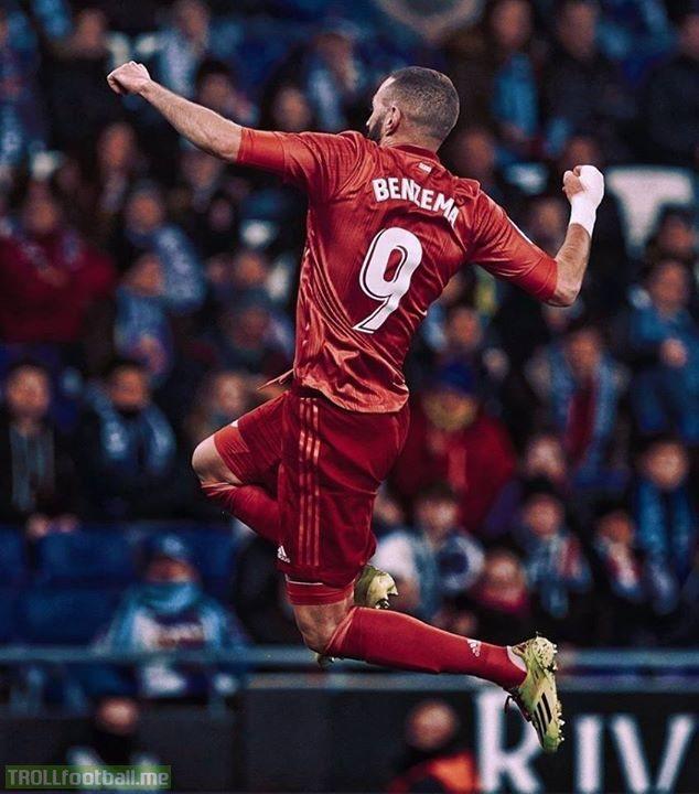 Karim Benzema has scored 26 goals this season, more than:  ▪ Cristiano (24) ▪ Kane (24) ▪ Cavani (22) ▪ Aubameyang (22) ▪ Suárez (22) ▪ Salah (21) ▪ Mané (20) ▪ Sterling (19) ▪ Hazard (19) ▪ Icardi (16) ▪ Lukaku (15) ▪ Lacazette (15)