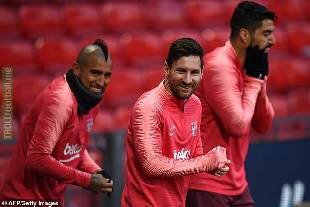 ⚠️Man Utd have faced Ronaldo and Mbappe and won over them... now it's time for ☢️Messi☢️