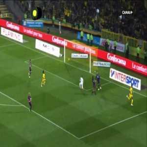 Nantes 1 vs 1 Lyon - Full Highlights & Goals