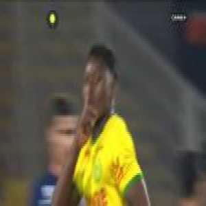 Nantes [2]-1 Lyon - Anthony Limbombe free-kick 83'