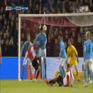 Feyenoord [2]-1 Heracles - Steven Berghuis penalty 82'