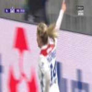 Lyon W 1-0 PSG W - A. Hegerberg 8'