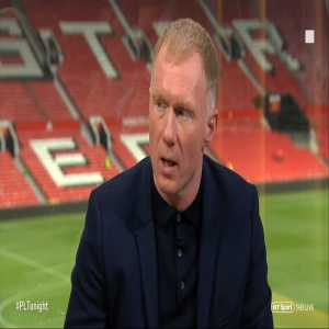 """Paul Scholes: """"I just can't see Manchester United challenging for the title next season, it feels like you almost need a full rebuild again. Give it 200 million? He's gonna have to improve this team massively."""""""
