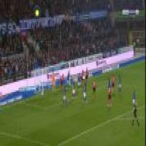 Strasbourg 0-1 Guingamp - Marcus Thuram 37'
