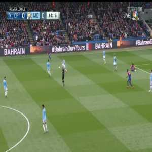 Crystal Palace 0-1 Manchester City: Sterling