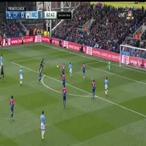 Crystal Palace 0-2 Manchester City: Sterling