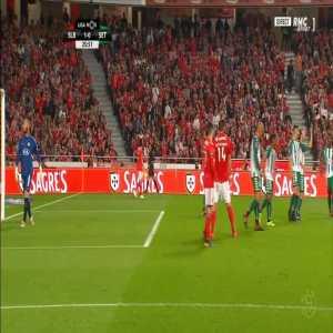 Georgi Makaridze (Vitoria Setubal) penalty save against Benfica 29'
