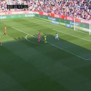 Girona 0-1 Villarreal - Samuel Chukwueze 7'