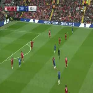 Hazard unable to finish a great ball - Liverpool 2 - 0 Chelsea