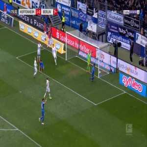 Hoffenheim 2-0 Hertha - Reiss Nelson 76'