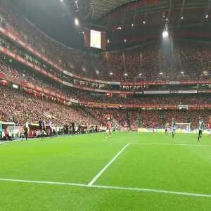 João Félix celebrating tonight's goal with his brother Hugo Félix (Benfica u-15).