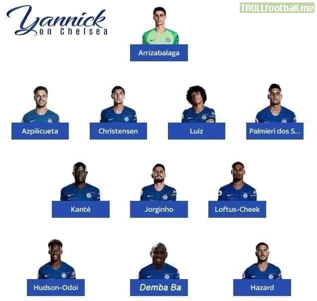 Leaked Chelsea Lineup For Today S Game Against Liverpool Troll Football