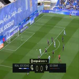 Real Sociedad 1-0 Eibar - Juanmi 1'