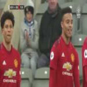 Newcastle U23s 0-4 Manchester United U23s - Mason Greenwood (free-kick)