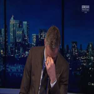 """Carragher: """"Man Utd, Everton and Sky Sports - you're all desperate to stop Liverpool winning the league!"""" Neville: """"It's been Liverpool TV for the last month!"""""""