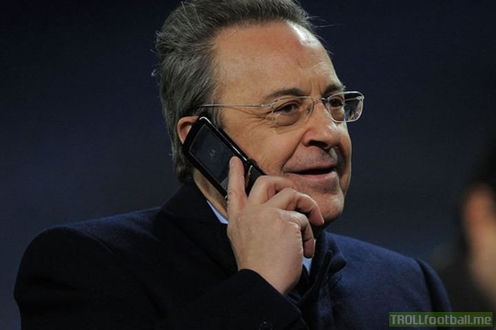 'Cristiano, it's Florentino. I've already got Zidane back, I will take you as well. Clearly, we're nothing without each other'