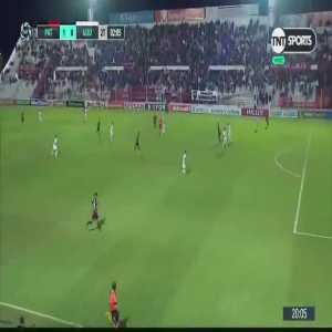 Patronato [1]-0 Godoy Cruz - German Berterame(47') Golazo! - Copa de la Superliga