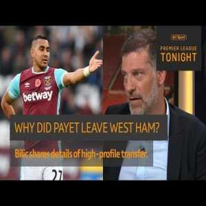 Slaven Bilic explains Dimitri Payet's departure from West Ham