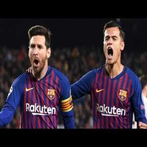 Barcelona vs. Man United 3-0 (16_04_2019) | All Goals| Lionel Messi | Ph...