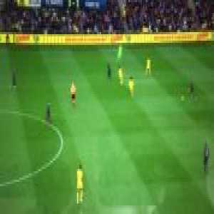 Buffon tries to play as an outfield player and slowly jogs back which gives Nantes an open goal to score (Video)