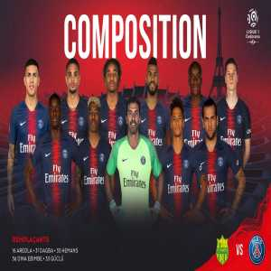 Even Mbappe out as PSG starts N'Soki, Moussa Diaby and Nkunku. Guclu, Hemans, Ebimbe plus Dagba and Areola for the weirdest lineup of the season.