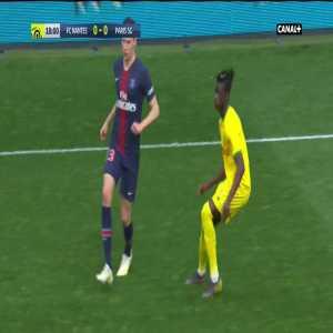 FC Nantes 0-1 PSG - Dani Alves 19'