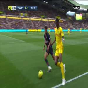 FC Nantes [2]-1 PSG - M. Waris 44'