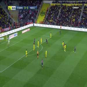 FC Nantes 3-[2] PSG - M. Guclu 89'