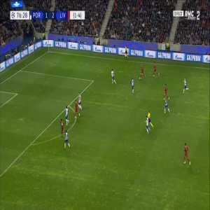 FC Porto 1-[3] Liverpool [1-5 on agg.] - Roberto Firmino 77'
