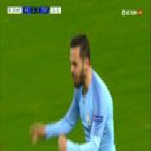 Manchester City [2]-2 Tottenham - Silva 11', [2-3 agg.]