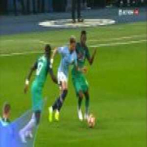 Manchester City [3]-2 Tottenham - Sterling 21', [3-3 agg.]