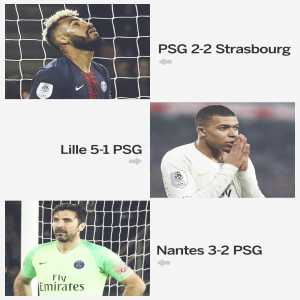 PSG blow the chance to win the Ligue 1 title for a third game running.