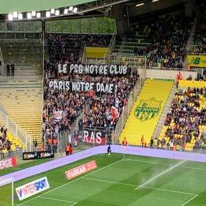 "PSG Ultras tribute to Notre-Dame: ""PSG our club, Paris our Lady (Notre-Dame)"""