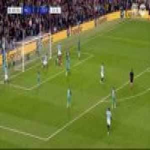 Save by Lloris & wonderful defending by Danny Rose