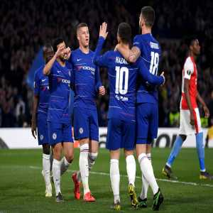 Chelsea are the first English side to win 11 major European games in a single season