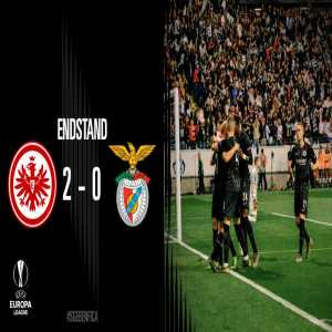 Eintracht Frankfurt are in the semi-final of a European competition for the first time since 1980