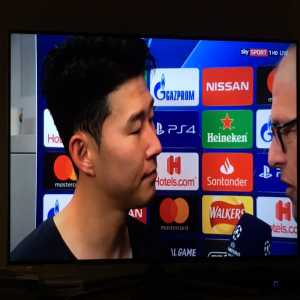 """Heung-Min Son's reaction when told that he's suspended for the semi-final first leg: """"I didn't know!"""""""