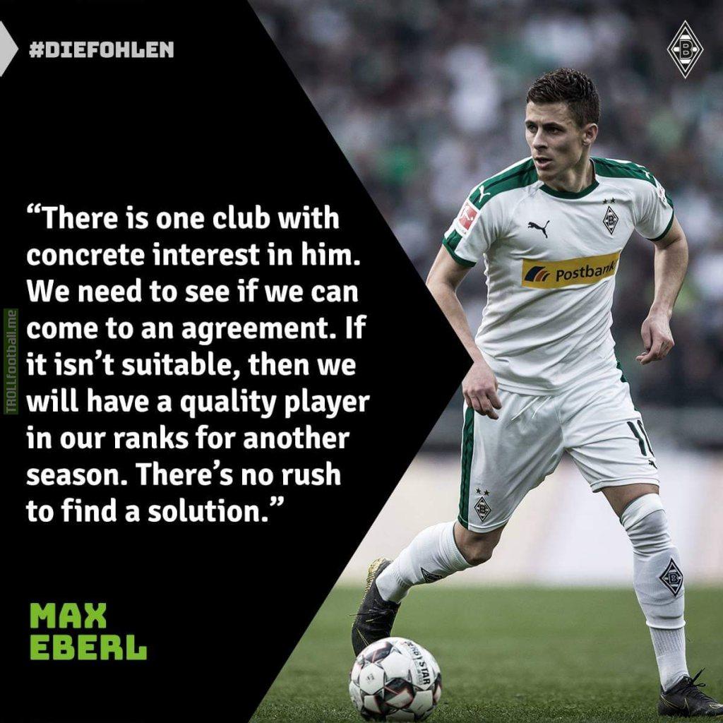 Mönchengladbach update on possible sale of Thorgan Hazard