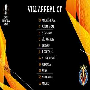 Romanian right-back Andrei Ratiu will make his first team debut for Villarreal in tonight's Europa League quarter-final against Valencia