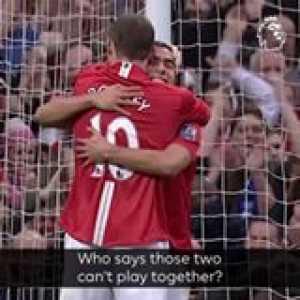 Wayne Rooney + Carlos Tevez = SquadGoals 🔥  GoalOfTheDay