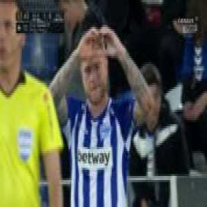 Alaves [1]-0 Valladolid - John Guidetti 4'