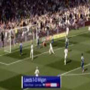 Leeds 1-0 Wigan - Patrick Bamford 17'
