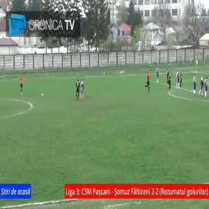Romanian third league: Goalkeeper scores a 40 meter free kick goal in the 94th minute