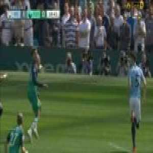 Alli penalty shout against Kyle Walker for a handball