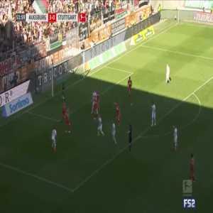 Augsburg 4-0 Stuttgart - Marco Richter 53'